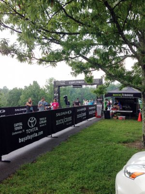 Rock Creek Full Marathon Start